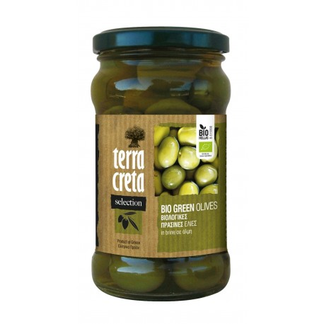 Olives vertes BIO TERRA CRETA SELECTION 160g